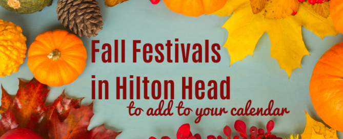 fall festivals in hilton head